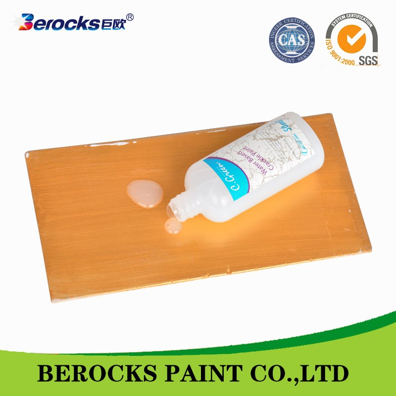 Berocks walls crackle paint/acquer paint for walls/special effect wall paint