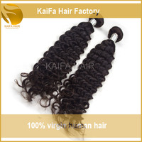 Kaifa Hair Superb Human Mongolian Kinky Curly Hair Weave 6a