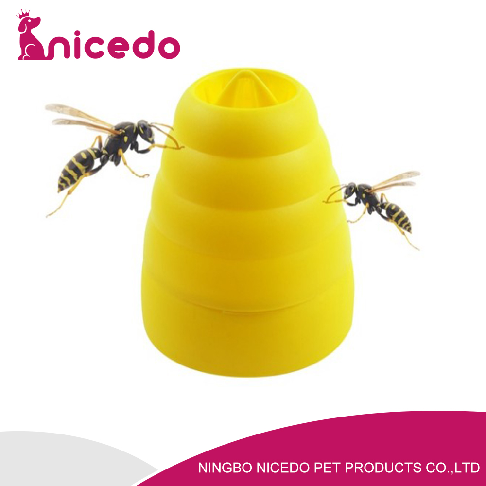 yellow beehive wasp trap , hanging wasp trap , insect catcher