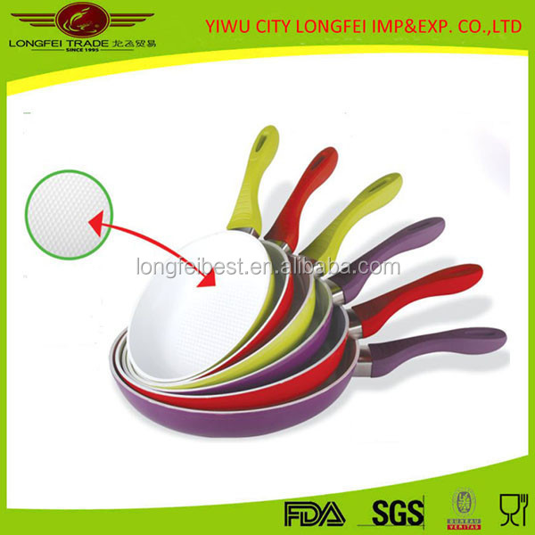 20CM Chinese Ceramic Coating Fry Pan,Cooking Pan