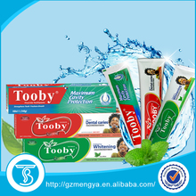 Kinds of cheap fluoride Whitening toothpaste wholesale factory in China
