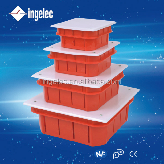 Yiwu No1ingelec brand large plastic waterproof boxes customized aluminum die cast quality junction box with terminal