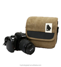 Wholesale High Quality Waterproof Fashionable Style Video Camera Bag Vintage Canvas