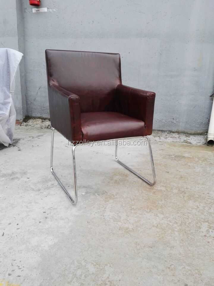 Modern fabric leather club chairs accent living room chairs price
