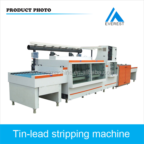 Tin-Lead stripping Production Line / PCB produce machine
