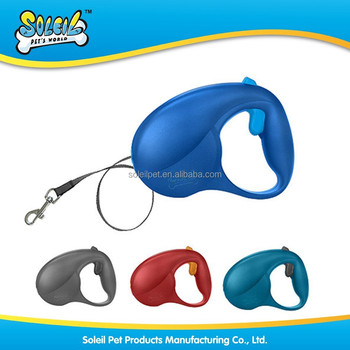 2015 Hot Sale Automatic Adjustable Super Strong Retractable Nylon Dog Leash Pet Accessory