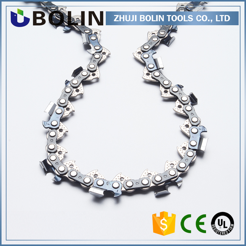 Gasoline Chain saw spare parts,for chainsaw parts,hot sale 325pitch 058guage full chisel chainsaw chain