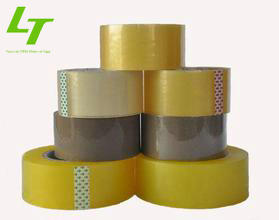Acrylic <strong>adhesive</strong> and waterproof feature bopp box packing tape