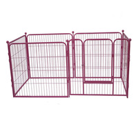 Outdoor strong pet whelping playpen dog puppy crate folding fence