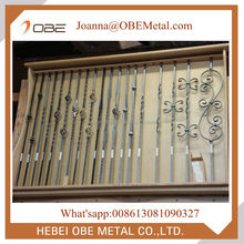 Decorative Hammered Iron Stair Balusters/ Metal Spindles Cheap