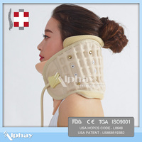 wholesale alibaba new products Inflatable air pump orthopedic neck brace