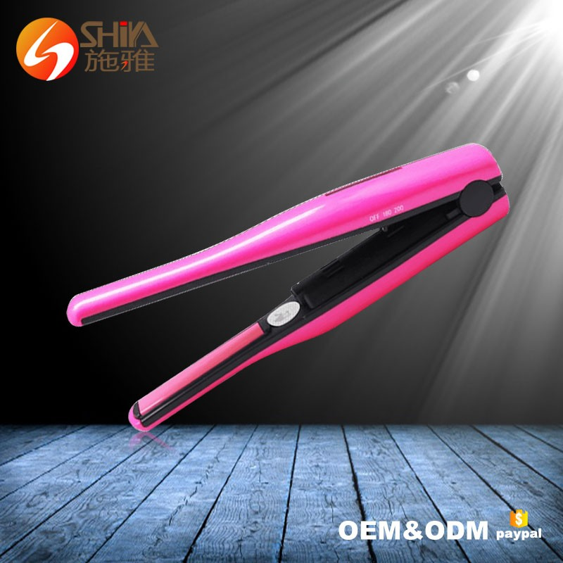 Korean battery powered operated mini protein newest wireless private label rechargeable cordless hair straightener flat <strong>iron</strong>