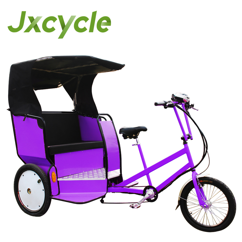 three wheel electric rickshaw/3 wheel bike taxi for sale