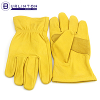 Goat skin safety protection working gloves