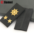 OEM military Uniform marks shoulder rubber rank epaulettes
