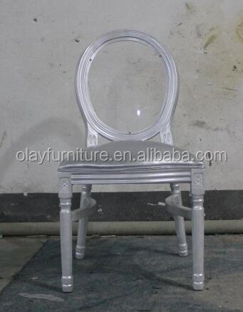 2017 hot sale cheap wedding chair ,silver PU white wedding chair Stacking wooden <strong>Acrylic</strong> clear wedding event rental chair