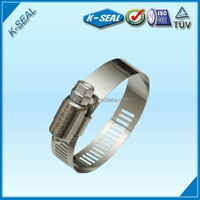 compression hose clamp, screw joint pipe fitting ,pipe clip KB10SS