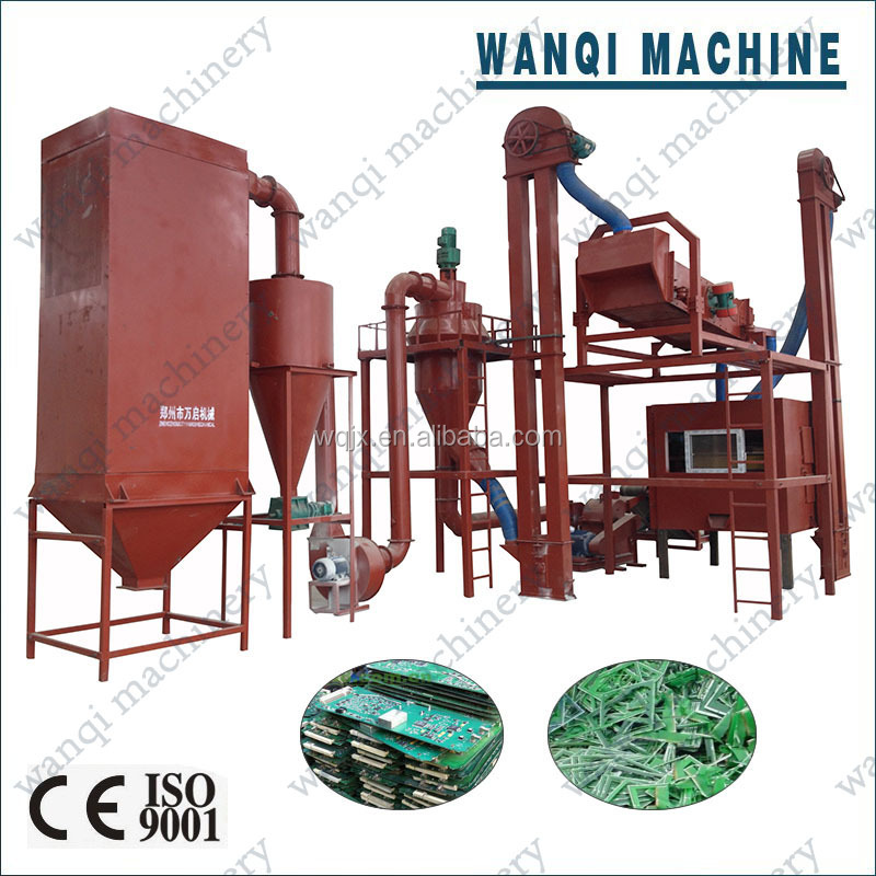 Electronic Printed Circuit Board PCB Recycling Machine/ Waste PCB recycling machine with high efficiency for sale