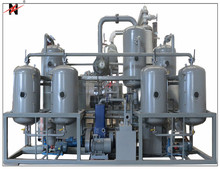 Used engine oil purification,oil filtration, oil recycling plant for crude oil