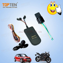 GPS tracking motorcycle alarm security tracker devices