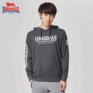 Men's Sports Outwear Signature Sleeve Logo Mid weight Hooded Sweatshirt