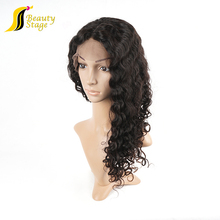 Raw unprocessed hauman hair 100% natural swiss lace for wig making, double drawn freetress bulk hair