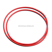 Silicone rubber O ring for sealing