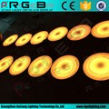 water proof led circle round sensitive interactive brick dance floor