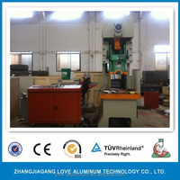 Aluminum foil lunch box production line