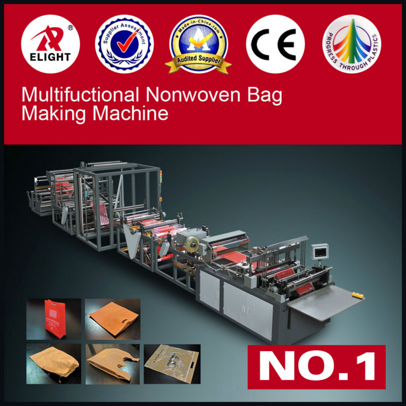 Nonwoven Ziplock Bag Making Machine,nonwoven gift bag making machine
