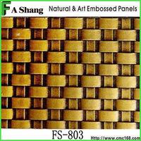 home decoration bamboo faced decorative veneer