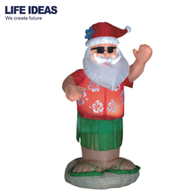 6ft/180cm 2018 New style Giant Christmas Outdoor Inflatable moving santa clause Airblown Decoration