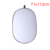 71x112cm 5 in 1 Portable Collapsible Light Round Photography Reflector for Studio Multi Photo Disc