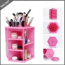 Glam Caddy cosmetic beauty organizer box rotation display tower