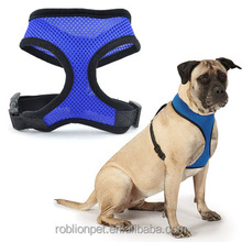 RoblionPet New Soft Comfortable Breathable Fabric Mesh Dog Harness
