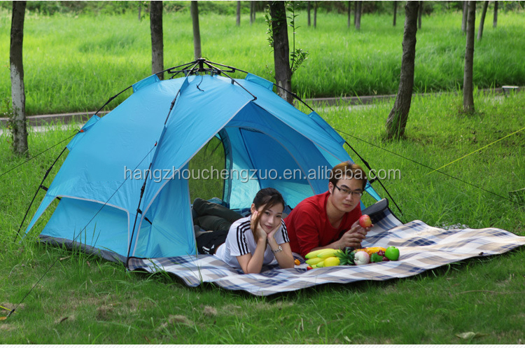 Factory Price Automatic Hydraulic Spring Style outdoor camping tent outdoor inflatable tent