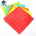Silicone anti-hot insulation mat square non-slip coaster silicon tableware drain pot dish pad