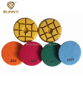 "4""100mm Diamond Polishing Pad for Stone"