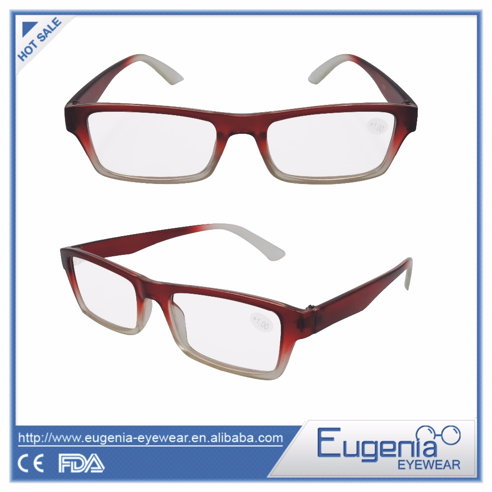 wholesale high quality recycle beautiful reading glasses