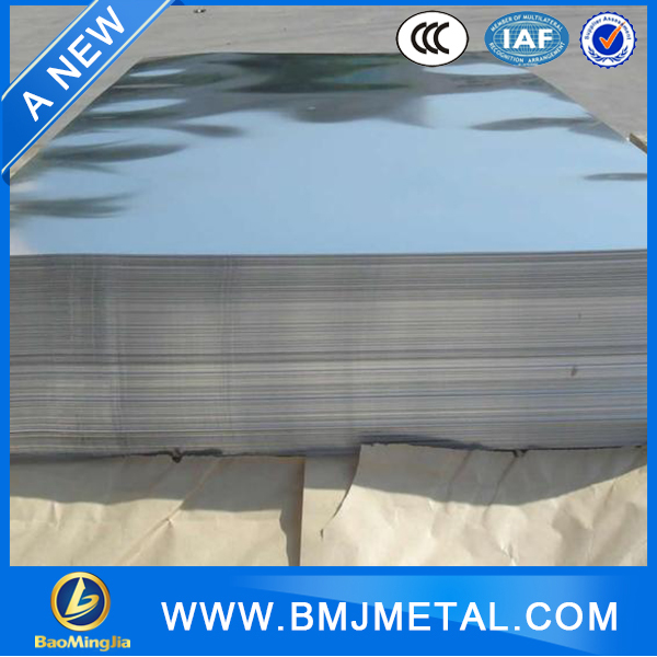 Customized made 304 stainless steel mill test certificate sheet