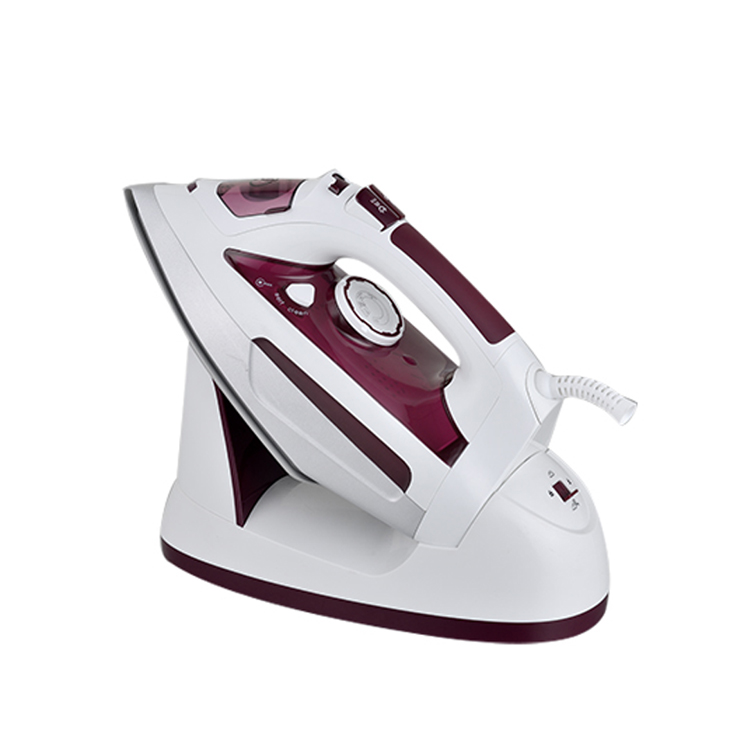 2200W ceramic soleplate travel anti-drip cordless steam <strong>iron</strong>