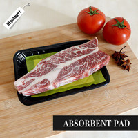 High Quality Customized Size Absorbent Meat Pad