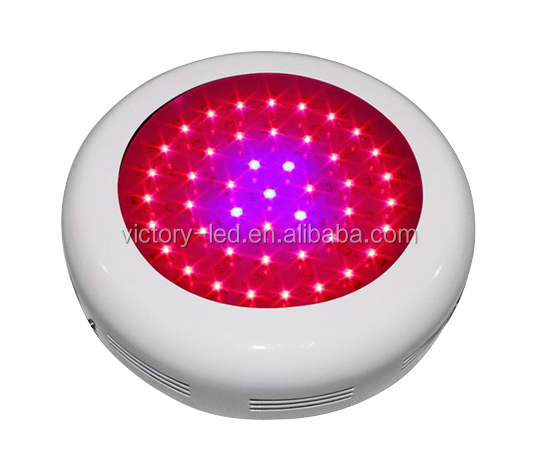 ufo design 135W 45x3w led plant grow light UV IR LED full spectrum