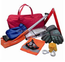car body care emergency kit with car first aid kit