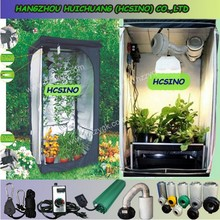 210D / 600D non toxic dark room indoor hydroponics grow tent grow box