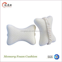 Comfortable good elasticity dog bone car neck pillow car cushion