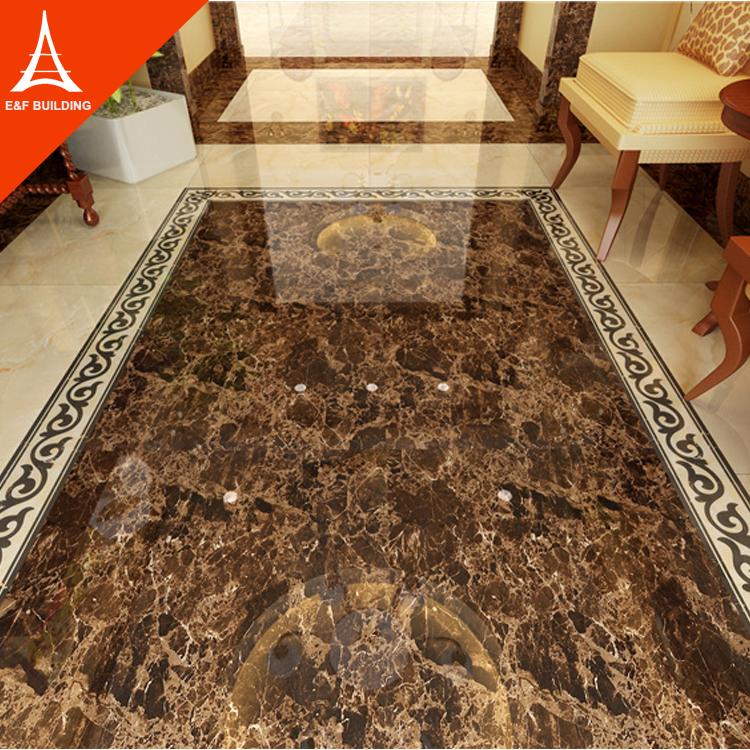 new model ceramic flooring tiles marble border design villa tile