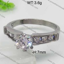 new design Holiday Hot Sale Sparkling Lucky Unisexbrand wedding rings diamond