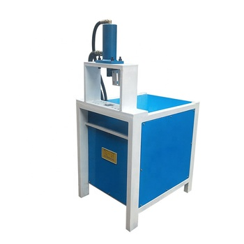 Easy Operating Steel Tube Hole Square Hydraulic Pipe Punching Machine