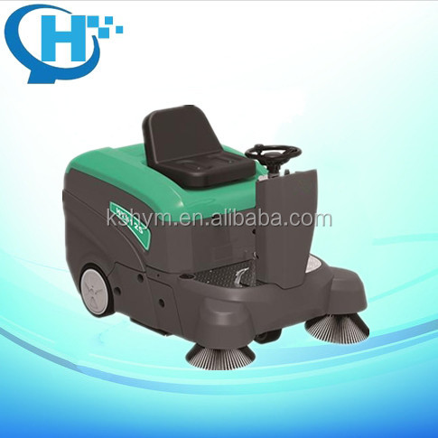 automatic floor cleaning machine battery industrial mechanical sweeper